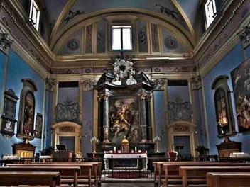 23.05.2021 – La Santa Messa di Pentecoste nella chiesa di San Cristoforo in Ascoli Piceno