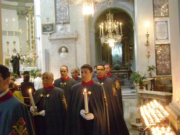 31.12.2019 - Te Deum di ringraziamento di fino anno nella Chiesa della SS. Trinità in Viterbo