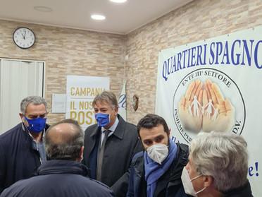 22.12.2020 - Donazione di cause in gratuito patrocinio ai giovani dei Quartieri Spagnoli in Napoli
