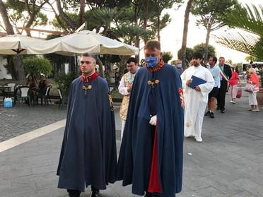 24.07.2020 - Celebrazione eucaristica a Casamicciola Terme sull'Isola di Ischia