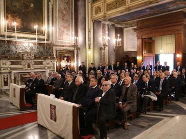 04.12.2019 - Chiesa di San Giuseppe dei Nudi di Napoli eretta Cappella Magistrale Costantiniana