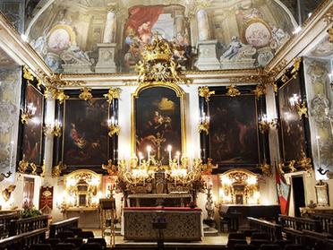 13.12.2020 – Solenne Santa Messa di Natale nella Cappella dei Mercanti a Torino
