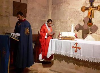 13.12.2019 - Santa Messa mensile presso l'Abbazia di Casamari