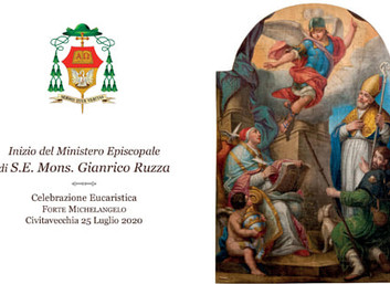 25.07.2020 - La Delegazione di Tuscia e Sabina all'ingresso del Vescovo di Civitavecchia-Tarquinia