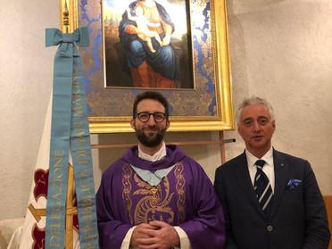 21.12.2019 - Santa Messa e Auguri di Natale della Real Commissione per la Repubblica di San Marino