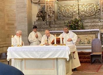 11.07.2020 - Santa Messa Costantiniana a Cosenza presieduta dall'Arcivescovo Salvatore Nunnari