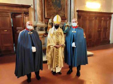 02.05.2021 – La Delegazione Toscana partecipa alla celebrazione delle Feste Cateriniane a Siena