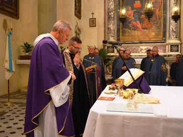 01.12.2019 - Cerimonia prenatalizia presso il Santuario della Madonna delle Grazie a Pistoia