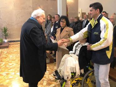 26.01.2020 - Consegna donativo in favore della piccola Azzurra Incrocci a Livorno
