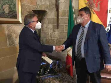 01.12.2020 - Sostegno della Delegazione della Sicilia Occidentale al Boccone del Povero di Palermo