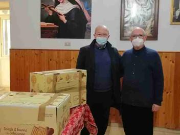 02.02.2021 - Dono di generi alimentari di prima necessità per i bisognosi a Palermo