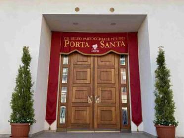 20.06.2021 - La Delegazione della Tuscia e Sabina in pellegrinaggio per il giubileo a Villanova