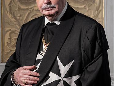 29.04.2020 - Cordoglio per la morte del Principe e Gran Maestro del Sovrano Militare Ordine di Malta