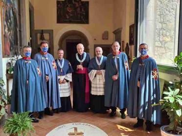 23.07.2021 - Vescovo di Viterbo nominato Cappellano Gran Croce di Merito dell'Ordine Costantiniano
