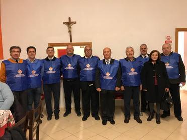 16.12.2019 -  L'offerta della cena ai bisognosi della Parrocchia Santa Croce a Caltanissetta