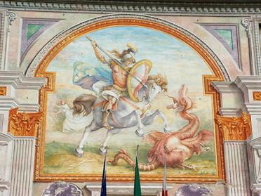 22.04.2021 – Celebrazione della Delegazione della Tuscia e Sabina in onore di San Giorgio