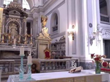29.04.2020 - Santa Messa in streaming con reliquia della Vera Croce - Delegazione Napoli e Campania