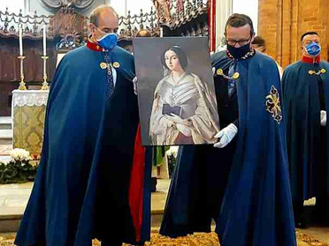 31.01.2021 - Santa Messa in ricordo della Beata Maria Cristina Regina delle Due Sicilie a Moncalieri