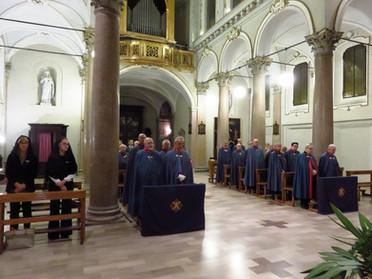"""10.10.2019 - Santa Messa e conferenza del Prof. Luigi Cataldi """"Leonardo da Vinci pittore"""