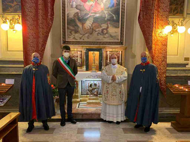 25.04.2021 – La Delegazione Lombardia partecipa alle festività di San Giorgio a Varzi