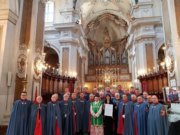 """23.02.2020 - Santa Messa e Cerimonia di consegna di Medaglia di Benemerenza """"Militantis Ecclesiae"""""""