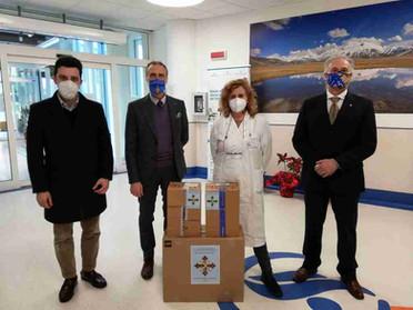 27.03.2021 - Donazione di farmaci al Centro di Riabilitazione Venerabile Marcucci di Ascoli Piceno