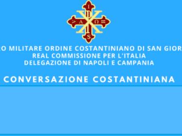 30.11.2020 - Conversazioni Costantiniane della Delegazione di Napoli e Campania online