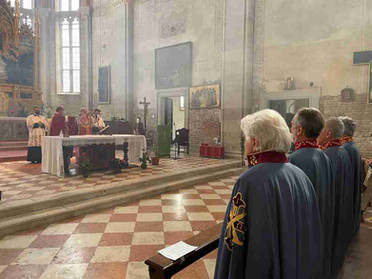 18.09.2021 – Incontro della Delegazione del Triveneto nella Chiesa di Sant'Elena a Venezia