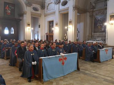 03.11.2019 - Pellegrinaggio del Sacro Militare Ordine Costantiniano di San Giorgio a Caprarola