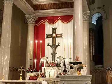 21.10.2021 – Santa Messa mensile presso la Basilica Magistrale di Santa Croce al Flaminio in Roma