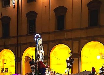 15.08.2020 - La Delegazione Toscana partecipa a due eventi religiosi aretine