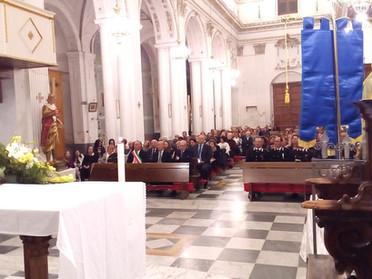 03.11.2019 - Funzione solenne per la consegna dei diplomi e medaglie di benemerenza a Burgio