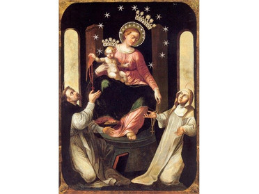 08.05.2020 - Pregare col cuore di figli la Madonna di Pompei, Compatrona dell'Ordine Costantiniano