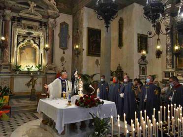 13.09.2020 - I Cavalieri della Toscana alla Peregrinatio Reliquiae di S. Rita da Cascia a Pistoia