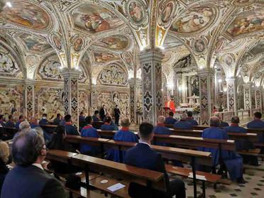 18.06.2021 - Pellegrinaggio della Delegazione di Napoli e Campania nel Duomo di Salerno