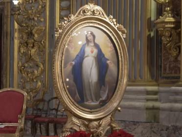 08.12.2020 – Solenne Celebrazione dell'Immacolata nella Chiesa di Sant'Ignazio di Loyola a Roma