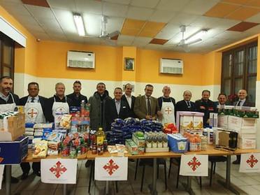 26.02.2020 - Donazione di derrate alimentari di prima necessità a Torino