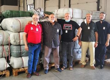 05.08.2020 - Donazione di oltre 15.000 indumenti per i più bisognosi in Lombardia