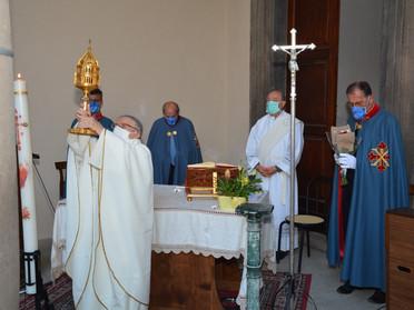 22.05.2020 - Festeggiamenti in onore della Taumaturga agostiniana Santa Rita da Cascia a Viterbo