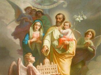 07.03.2021 - I Cavalieri Costantiniani della Tuscia e Sabina celebrano il Giubileo di San Giuseppe