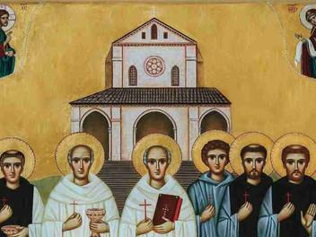 17.04.2021 – Delegazione della Tuscia e Sabina alla beatificazione dei 6 monaci martiri di Casamari