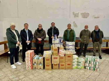 20.02.2021 - Campagna di solidarietà sotto l'Alto Patronato del Duca di Calabria