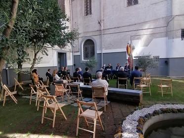 """09.10.2021 - Presentazione del libro """"Antonio Capece Minutolo Principe di Canosa - Saggi Politici"""""""
