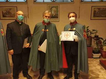 15.04.2021 - Santa Messa della Delegazione di Roma e Città del Vaticano e consegna diplomi corso