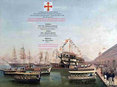 """09.04.2021 – Conversazione """"La Marina delle Due Sicilie dal Mediterraneo agli Oceani"""""""