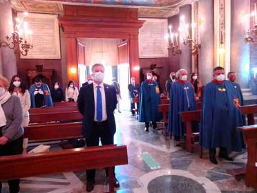 24.04.2021 – La Delegazione di Napoli e Campania onora San Giorgio Megalomartire