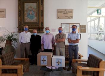 13.07.2020 - Donazione di medicinali ad una Casa di Riposo ad Ostra