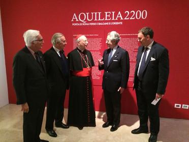 """29.11.2019 - Visita guidata alla mostra """"Aquileia 2200 - Porta di Roma verso i Balcani e l'Oriente"""""""