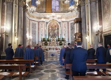 26.06.2020 - Santa Messa mensile presso la Cappella Magistrale in Napoli
