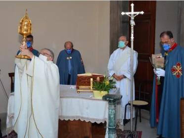22.05.2021 – Festeggiamenti di Santa Rita nel Convento della SS. Trinità in Viterbo
